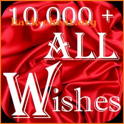 10,000+ Wishes App, All Wishes Images & Greetings icon
