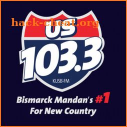 103.3 US Country - Bismarck's New Country (KUSB) icon