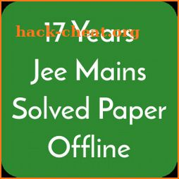 17 Years Jee Main Solved Papers Offline icon