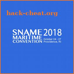 2018 SNAME Maritime Convention icon