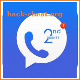 2ndBurner: Second Phone Number, Receive SMS Online icon