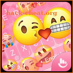 3D Cute Funny Emoji Love Keyboard Theme icon