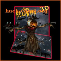 3D Happy Halloween Keyboard Theme icon