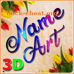 3D Name Art Photo Editor - Focus n Filters icon