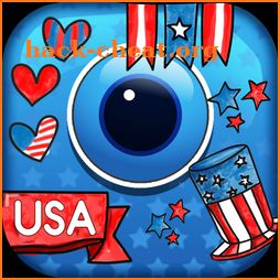 4th Of July Photo Stickers - USA Photo Editor App icon