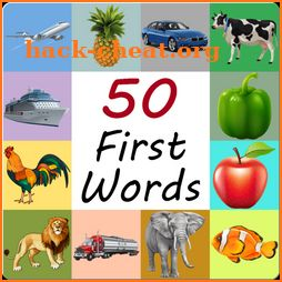50 First Words icon