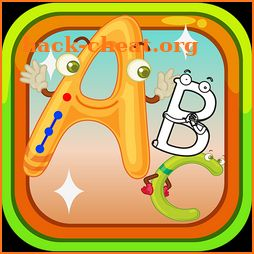 ABC dot to dot Letters - learn to write alphabet icon