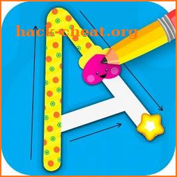 ABC Tracing Games For Kids - Alphabet & Numbers icon