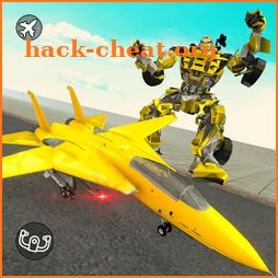 Airplane Jet Robot Transform Robot Shooting Games icon