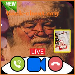 Allo Santa Claus Video Call Prank Game 2019 icon