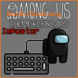 Among us theme keyboard icon