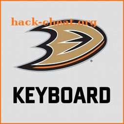 Anaheim Ducks Keyboard icon