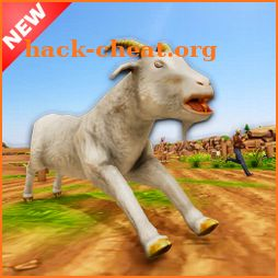 Angry Mad Goat Destruction: Wild Animal Sim icon