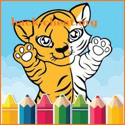 Animal Coloring Book for Kids icon