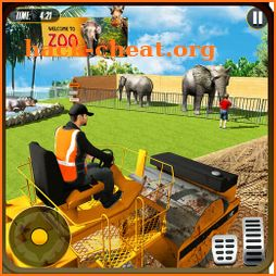 Animal Zoo Construction Simulator : Building Games icon