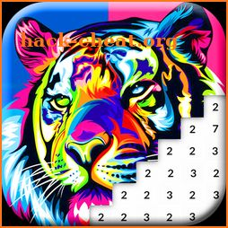 Animals Color by Number: Animal Pixel Art icon