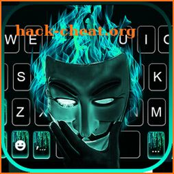 Anonymous Mask Keyboard Theme icon