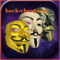 Anonymous Mask on Face camera Photo Editor icon