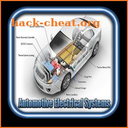 automotive electrical systems icon