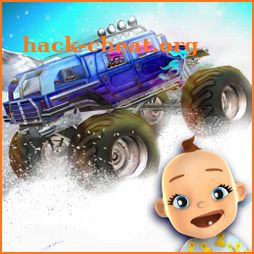 Baby Monster Truck Ice Fun Pro icon
