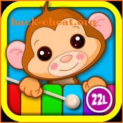 Baby Piano games for 2+ year olds Toddler Kids icon