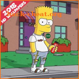 Bart Supreme Wallpaper HD icon