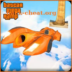 Bat Car Mega Ramp Stunt Racing Hero: Driving Games icon