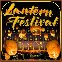 Beautiful Lamp Festival Keyboard icon