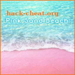 Beautiful Wallpaper Pink Sand Beach Theme icon