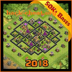 Best Base Maps for COC 2018 icon