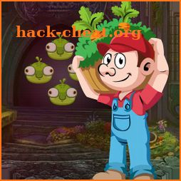 Best Escape Games 187 Vegetable Man Rescue Game icon