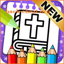 Bible Coloring Pages - Bible Coloring Book icon