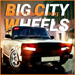 Big City Wheels - Courier Simulator icon