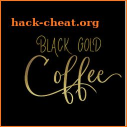 Blackened Gold Coffee icon