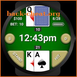 Blackjack Watch Face icon