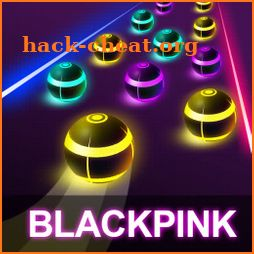BLACKPINK Road Tiles: KPOP Colour Ball Dancing Run icon