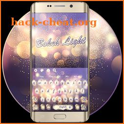 Bokeh Light Keyboard Theme icon