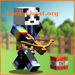 Bouncing Hunter: Block Art, 3D icon