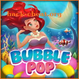 Bubble Pop Mermaids: Ocean Kingdom Adventure icon