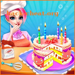 Cake Maker in Kitchen - Candy Cake Cooking Game icon