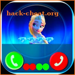 Call from Elssa 📱 Chat & video call (Simulation) icon