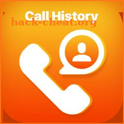 Call History : Any Number icon