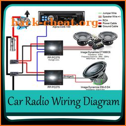 Car Radio Wiring Diagram icon