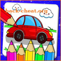 Cars Coloring Book & Drawing Book icon