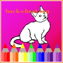 Cat Coloring Book icon