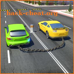 Chained Cars against Ramp icon