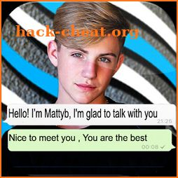 Chat Messenger With MattyB - Prank icon