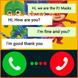 Chat WIth Masks PJ Games icon