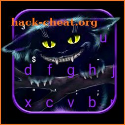 Cheshire Monster Cat Keyboard Theme icon