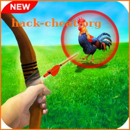 Chicken Shooter Hunting : Archery Games icon